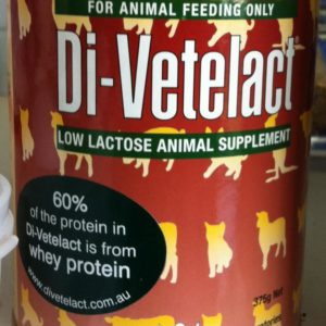 DI-VETELACT Low Lactose Milk Replacer