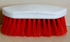 BRUSH DANDY PLASTIC BACK (RED)