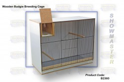 BREEDING CAGE BUDGIE