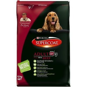 SUPERCOAT DOG ADULT BEEF FLAVOUR