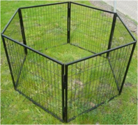 PUPPY PEN HEAVY DUTY 6 PANEL