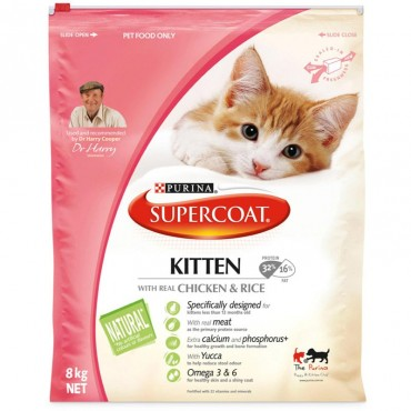 PURINA SUPERCOAT KITTEN 8KG
