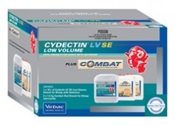 Cydectin Plus Combat pack