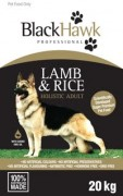 BLACKHAWK DOG LAMB AND RICE 20KG