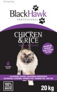 BLACK HAWK FELINE CHICKEN AND RICE