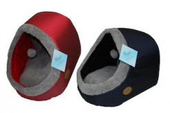 D0007, D0008, D0009 Cat Igloos Red, Green, Blue